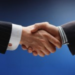 the handshake metaphor