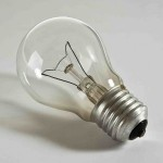 lightbulb - symbol used in digital design to represent strategic innovation