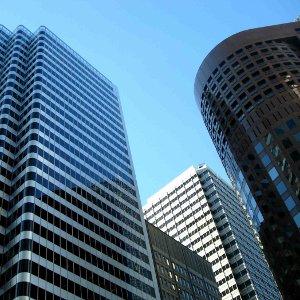 Skyscraper - graphic symbol relating to digital marketing and design